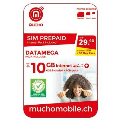 MUCHO MINI 19.90 FR. DATAEUROPA ***GRATUIT / CARD