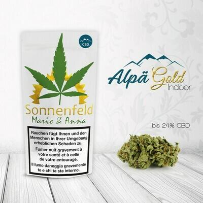 SONNENFELD MARIE&ANNA ALPÄGOLD 4G CBD 21% / THC 0.7%