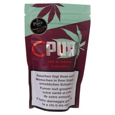 CPURE INDOOR CANNABIS 5G THC KLEINER 1%