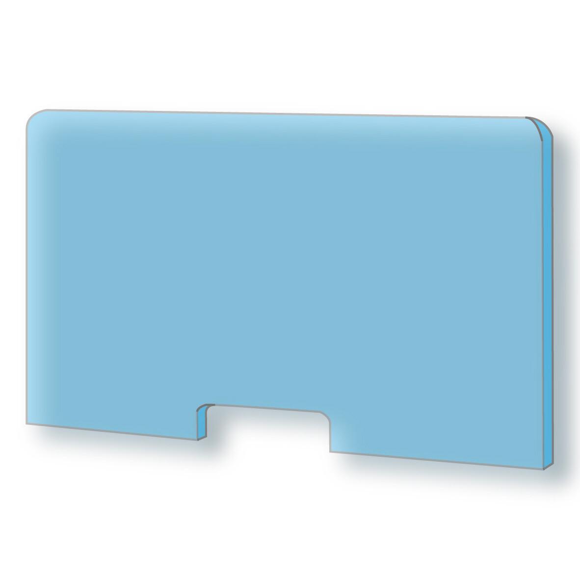 cloisons de protection anti contamination plexiglass 100 70 cm