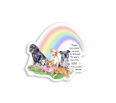 Rainbow Bridge Sticker