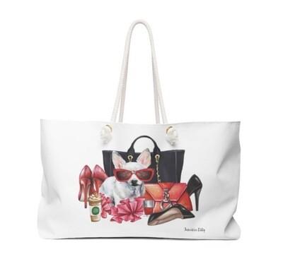 Glam 4 Life Weekender Tote Bag