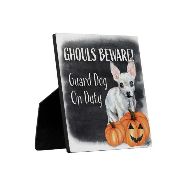 Ghouls Beware Security Sign - Maybelline