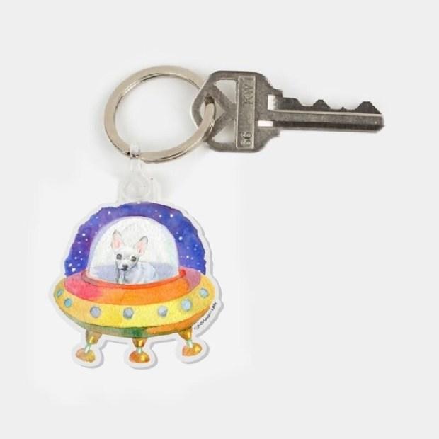 Martian Maybelline Keychain