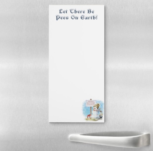 Pees On Earth Notepad - Chihuahua