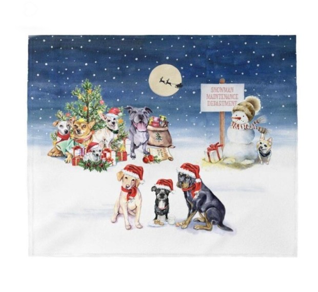 Happy Howlidays Blanket