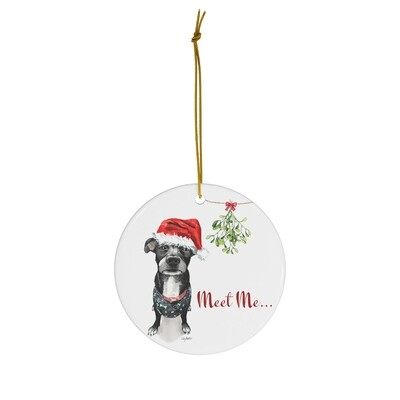 Merry Mistletoe Ornament - Mystery Mutt