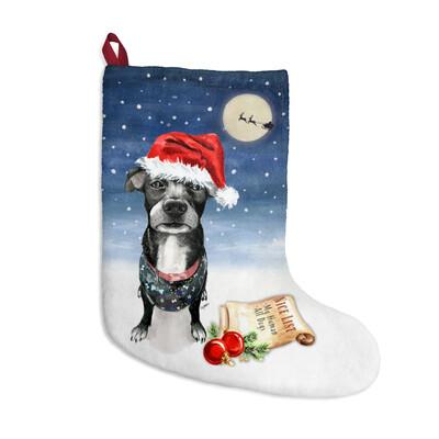 Santa, (Fur)Baby Stocking - Mystery Mutt