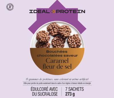 Bouchées chocolatées caramel et fleur de sel (7)