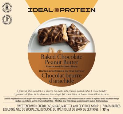 Barre protéinée au four saveur Chocolat beurre d'arachides (7)