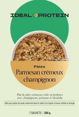 Risotto de coucous/Pâtes avec champignons et parmesan (7)