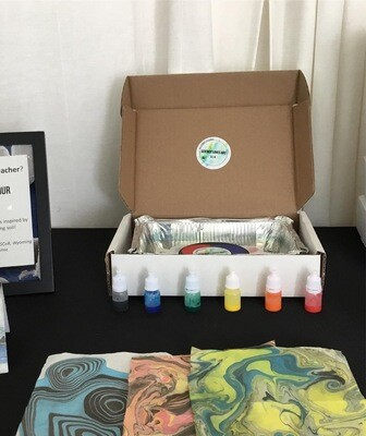 Suminagashi Marbling Art Kits