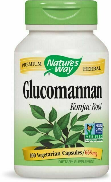 Glucomannan Supplement Capsule For Weight Loss
