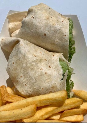 Roasted Chicken Caesar Wrap