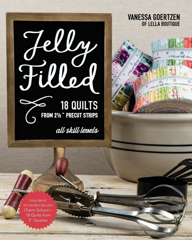 Jelly Filled 18 Quilts 11343 Book