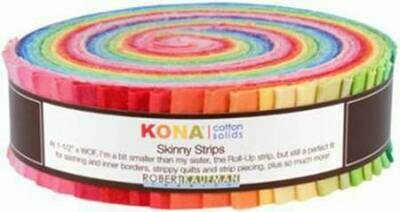 Skinny Strips Kona Solids Bright