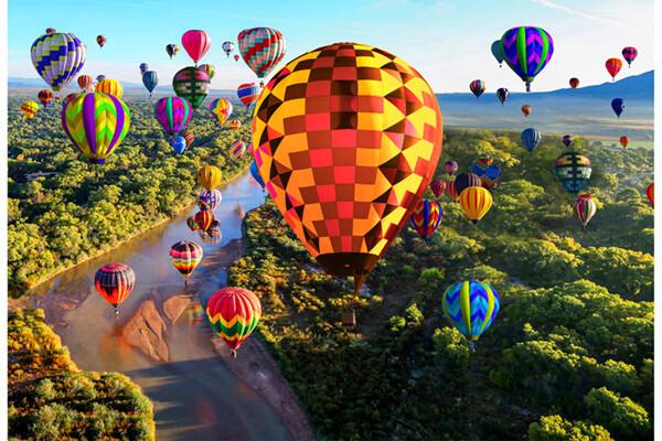 Hot Air Balloon Panel #120