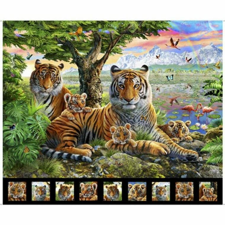 Tiger Panel Artworks