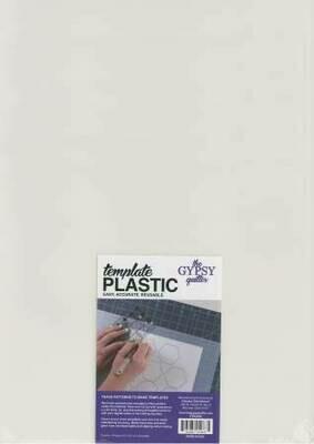 Template Plastic 4 pcs