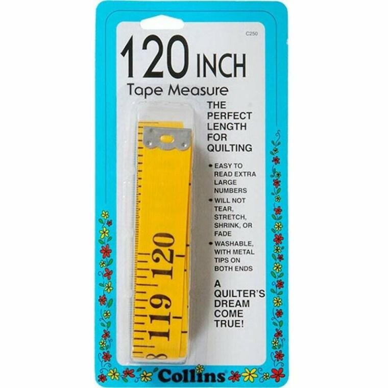 Quilt Tape Measure 120