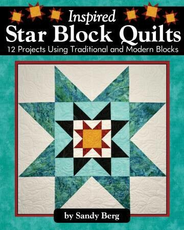 Insipid Star Block Quilts Book LAN3171