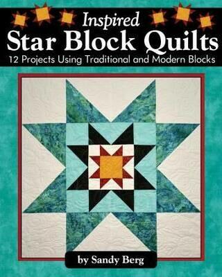 Insipid Star Block Quilts Book LAN3171