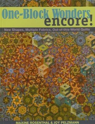 One Block Wonder Encore Book