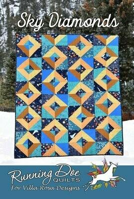 Sky Diamonds Pattern