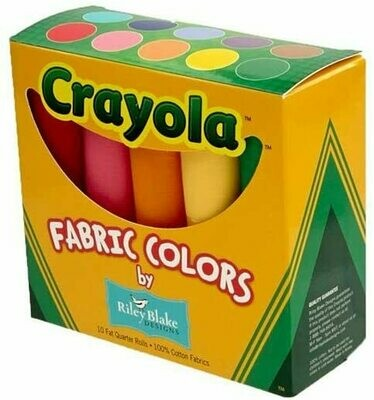 Crayola Solids Fat Quarter