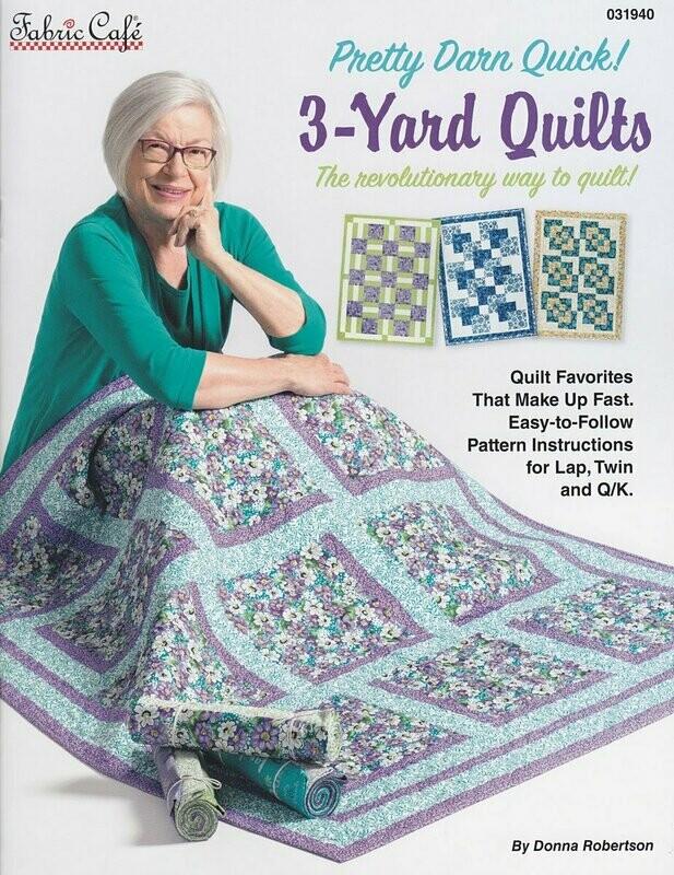 3 Yard Quilts PDQ Book