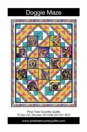 PT1825 Doggie Maze Pattern