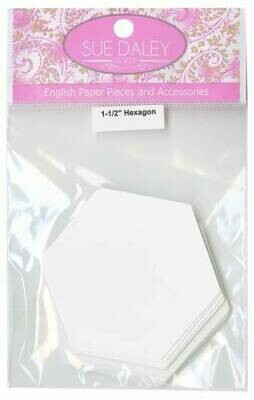 HEX112 1-1/2in 100pc Hexagon Papers