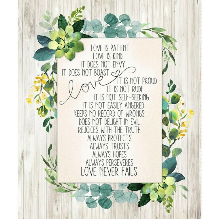 Love Never Fails Panel (181)