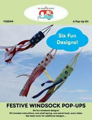 FQG144 Festive Windsock Pop Up