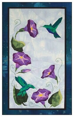 Hummingbird Garden Pattern