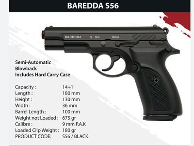 Baredda S56 black