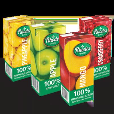 Rhodes 100% Fruit Juice