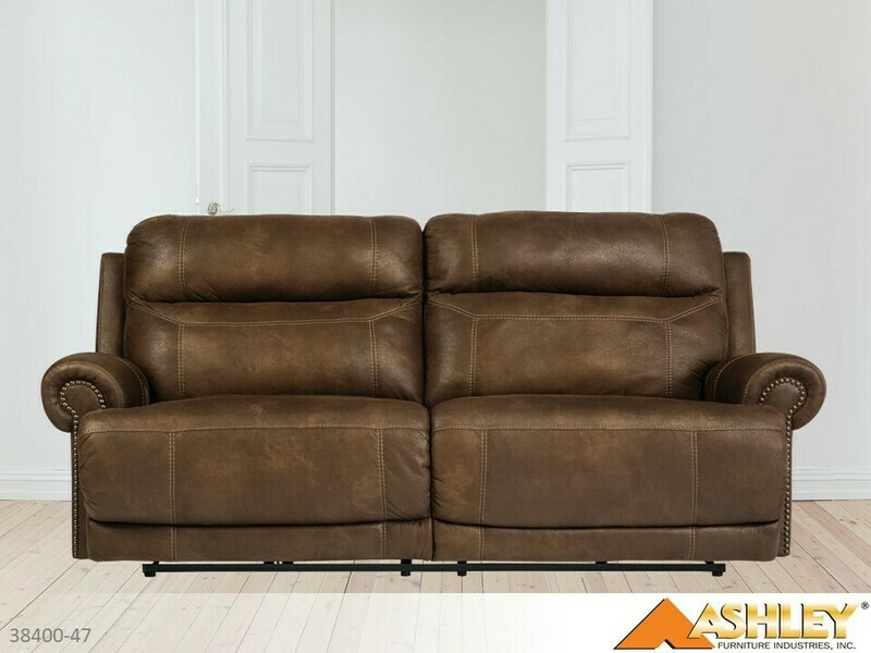 Austere Brown Reclining Sofa by Ashley