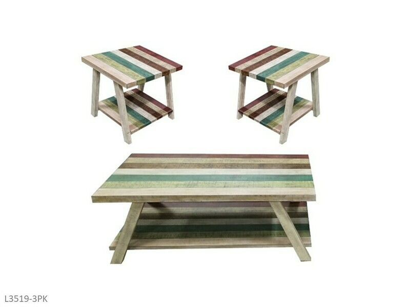 Jib Sail Occasional Table Set by AWFCO (3 Piece Set)