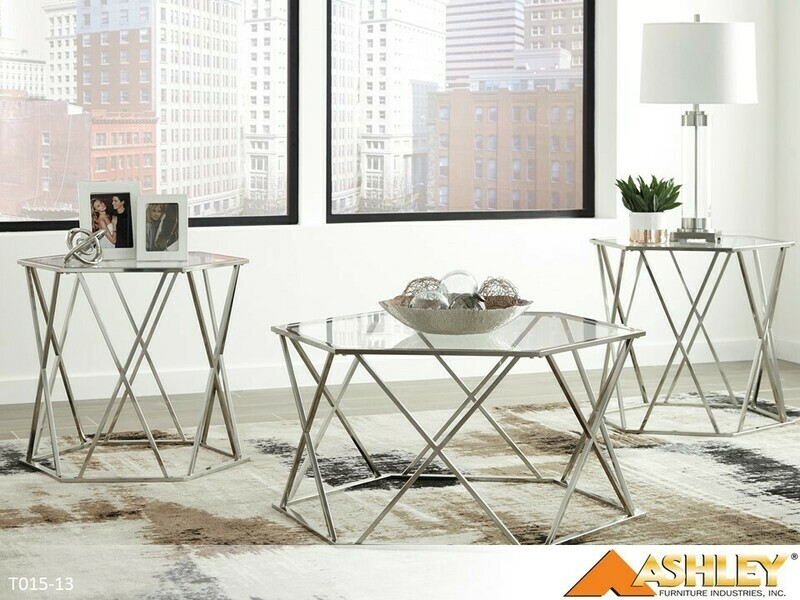 Madanere Occasional Table Set by Ashley (3 Piece Set)
