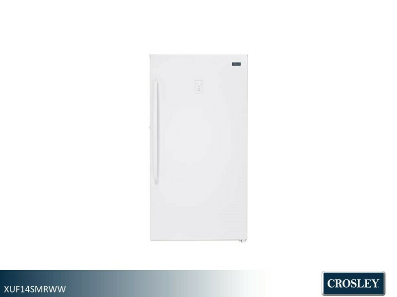 White Large Upright Freezer by Crosley (14 Cu Ft)