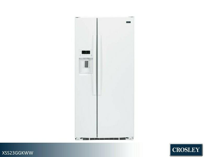 White Side by Side Refridgerator by Crosley (23.2 Cu Ft)