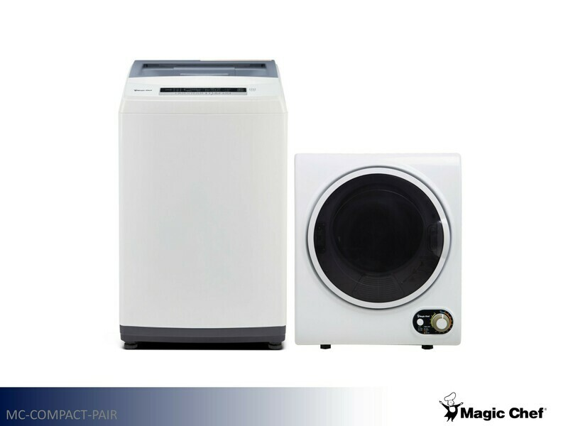 White Compact Washer by Magic Chef (2.0 Cu Ft)