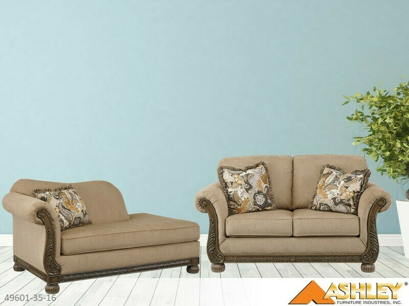 Westerwood Patina Stationary Sectional by Ashley (2 Piece Set)