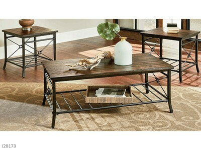 Ainsley Occasional Table Set by American Manufacturing (3 Piece Set)