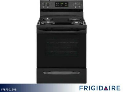White Electric Range by Frigidaire (5.3 Cu Ft)