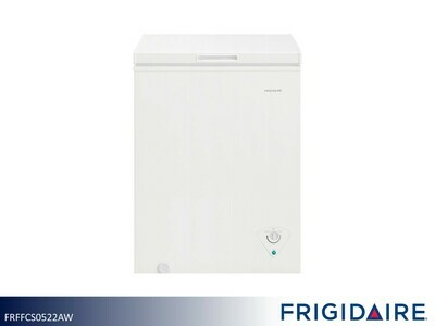 White 5 Cu Ft Chest Freezer by Frigidaire (5 Cu Ft)
