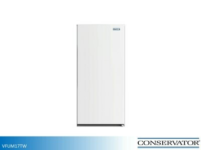 White Upright Freezer by Conservator (17 Cu Ft)