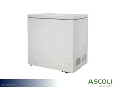 White 5 Cu Ft Chest Freezer by Ascoli (5 Cu Ft)