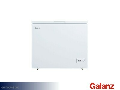 White 7 Cu Ft Chest Freezer by Galanz (7 Cu Ft)